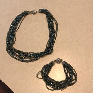 Bracelet and Necklace Set